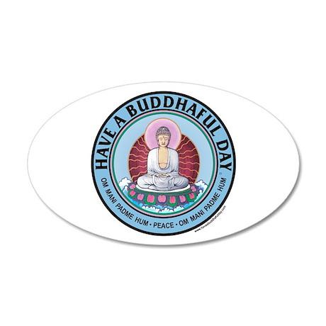 have a buddhaful day sticker