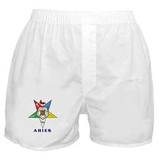 OES Aries Sign Boxer Shorts