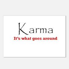 Karma1 Postcards (Package of 8)