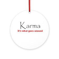 Karma1 Ornament (Round)
