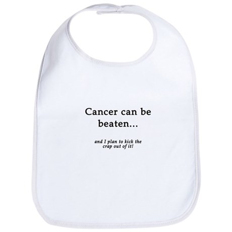 Cancer Can Be Beaten Bib
