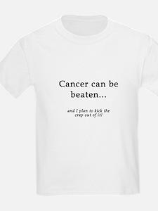 Cancer Can Be Beaten Kids T-Shirt