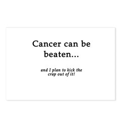 Cancer Can Be Beaten Postcards (Package of 8)