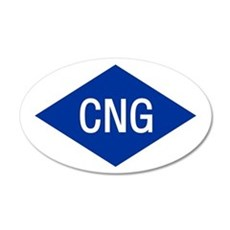 CNG 20x12 Oval Wall Peel