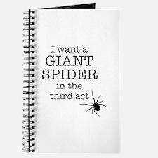 Giant Spider Journal