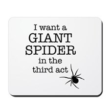 Giant Spider Mousepad