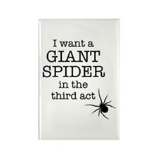 Giant Spider Rectangle Magnet