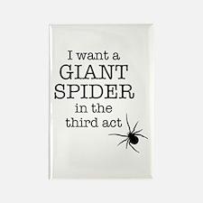 Giant Spider Rectangle Magnet