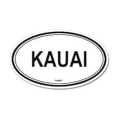 Kauai (Hawaii) 20x12 Oval Wall Peel