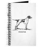 English pointer Journals & Spiral Notebooks