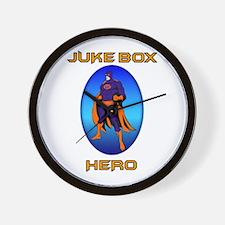 Juke Box Hero Wall Clock