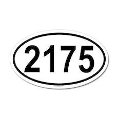2175 20x12 Oval Wall Peel