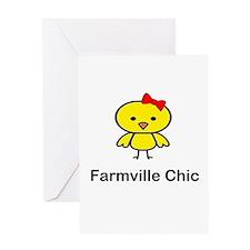 Farmville Chic Greeting Card