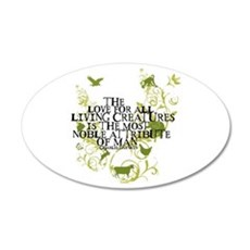 Darwin Noble - Animals and Floral Wall Decal