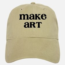 Make Art Baseball Baseball Cap