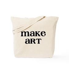 Make Art Tote Bag
