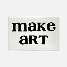 Make Art Rectangle Magnet