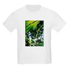 Rainforest Fan Palm Leaves Kids T-Shirt