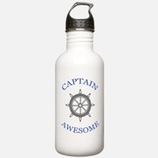 """Captain Awesome"" Water Bottle"