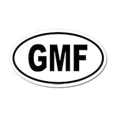 GMF 20x12 Oval Wall Peel