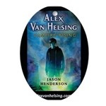 Alex Van Helsing Ornament (Oval)