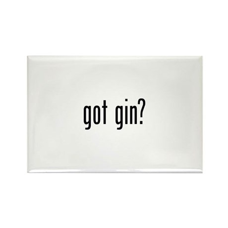 Got Gin Rectangle Magnet (100 pack)