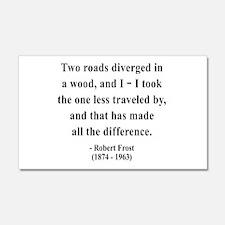 Robert Frost 1 20x12 Wall Peel