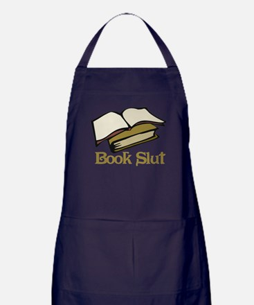Book Slut Apron (dark)