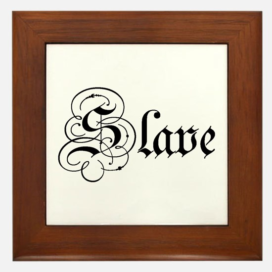 Slave Framed Tile