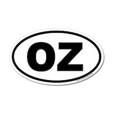 OZ Euro 20x12 Oval Wall Peel