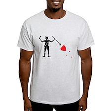 Pirate Flag Blackbeard Edward T-Shirt
