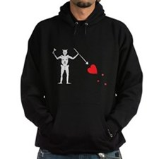 Pirate Flag Blackbeard Edward Hoodie