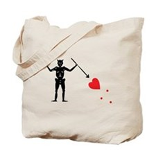 Pirate Flag Blackbeard Edward Tote Bag