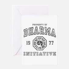 Property of Dharma 77 Greeting Card