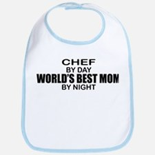 World's Best Mom - Chef Bib