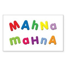 Mahna Mahna Rectangle Bumper Stickers