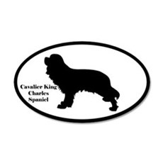 Cavalier King Charles Spaniel Silhouette Sticker