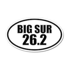 Big Sur Marathon 26.2 20x12 Oval Wall Peel