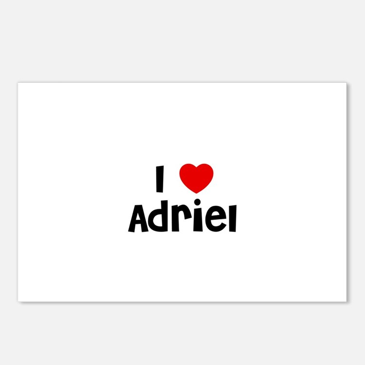 I * Adriel Postcards (Package of 8)