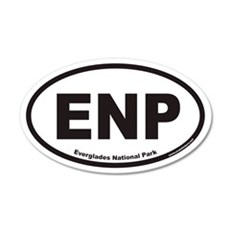 ENP Everglades National Park Euro 20x12 Oval Wall