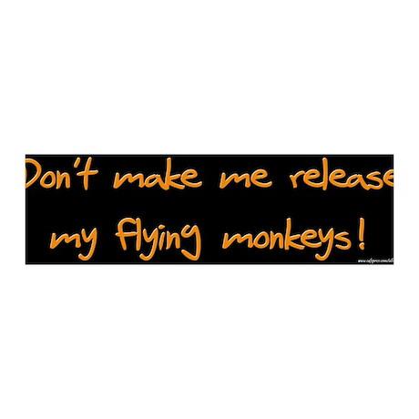 Flying Monkeys 36x11 Wall Peel