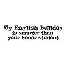 Honor Student: My English Bul 36x11 Wall Peel
