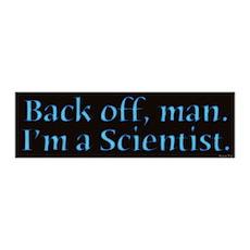 I'm A Scientist Quote 36x11 Wall Peel