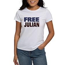 Free Julian Assange Tee
