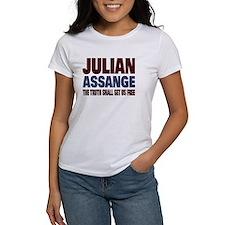 Julian Assange Tee