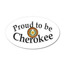 Cherokee 20x12 Oval Wall Peel