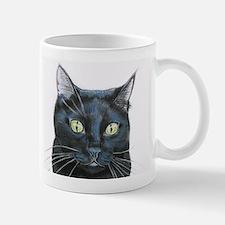 black cat Mug