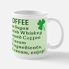 Irish Coffee Recipe Mug