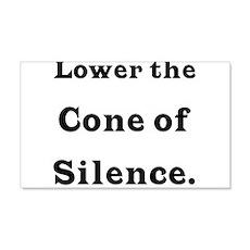 Cone of Silence 20x12 Wall Peel
