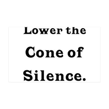 Cone of Silence 35x21 Wall Peel